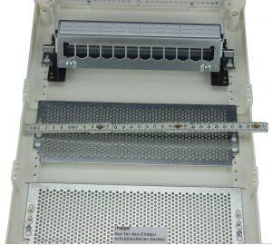 Патч-панель TWT наборная в слаботочном щите