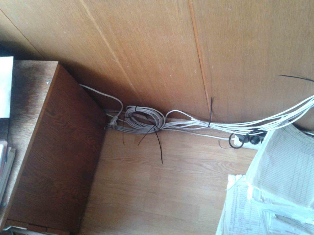 плохой ремонт ремонта сетевого кабеля в квартире