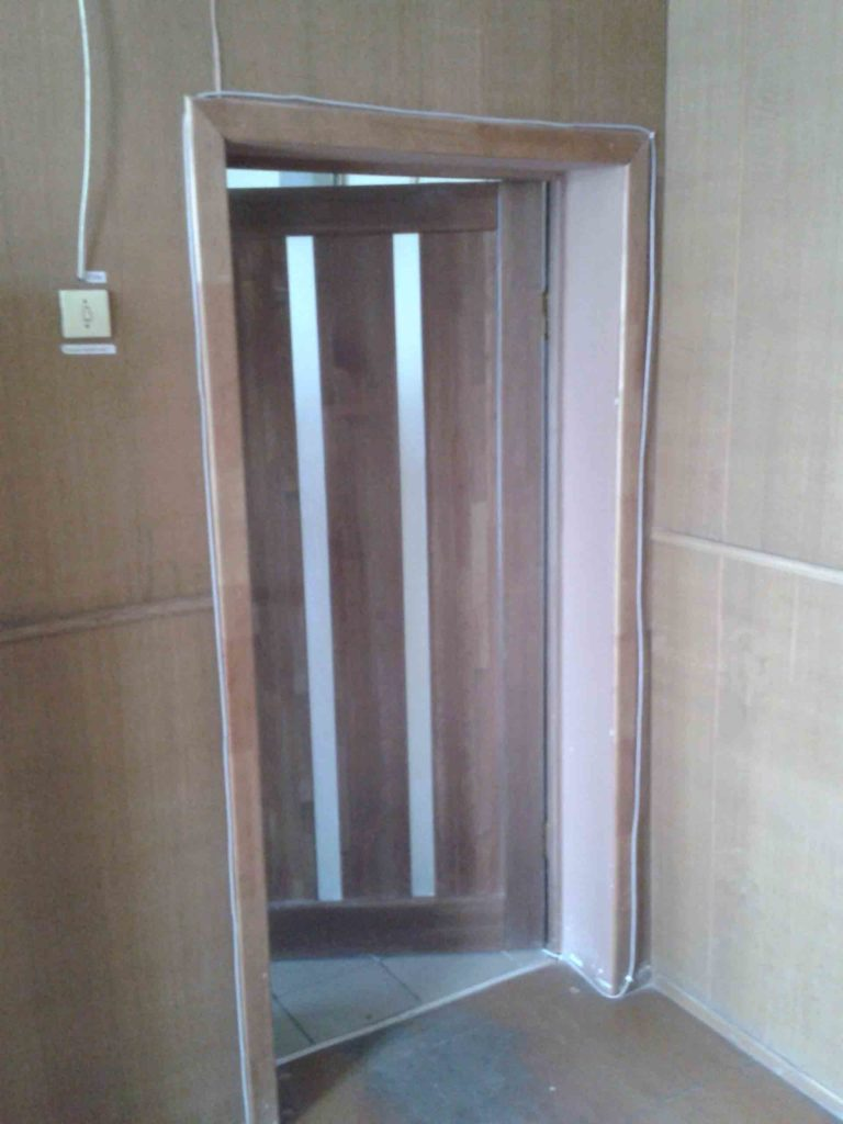 Некачественная прокладка витой пары внутри помещения