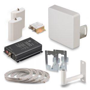 Комплект усиления сотовой связи GSM900-70 для дачи — KRD-900-70