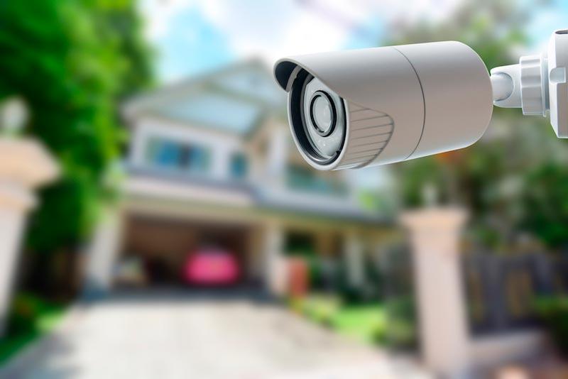 Камера видеонаблюдения для дачи