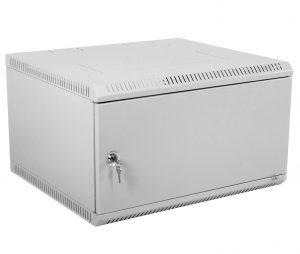 Шкаф телекоммуникационный настенный разборный 6U (600х350) дверь металл