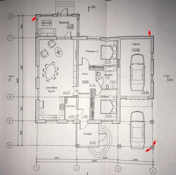 Расстановка камер в частном доме