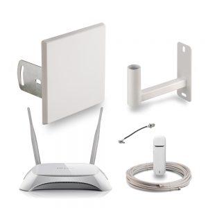 KMR-14-3G Комплект 3G интернет для дачи и загородного дома